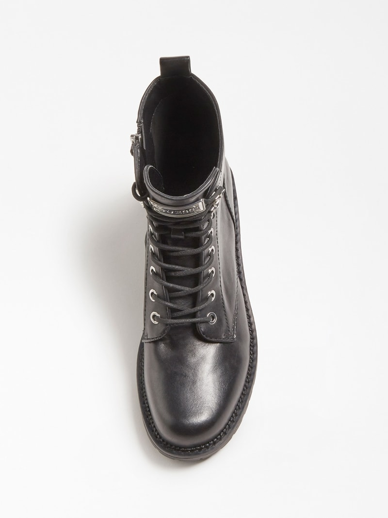 TALISI GENUINE LEATHER COMBAT BOOT image number 3