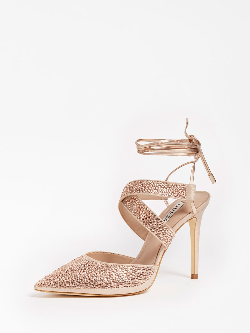 SANDALETTE GLOWY STRASS image number 0