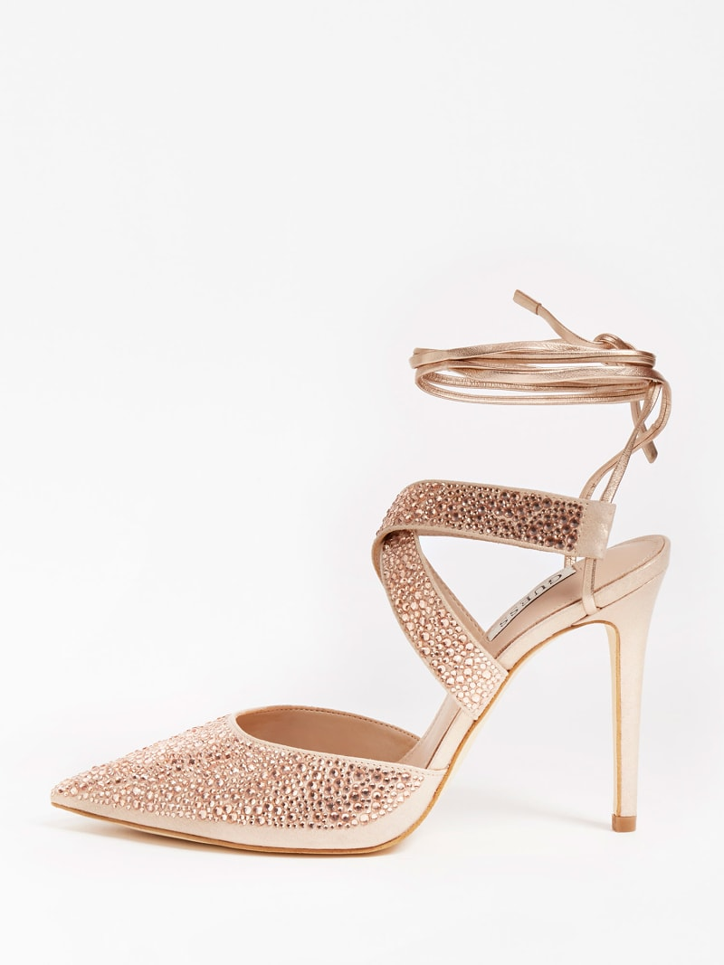 SANDALETTE GLOWY STRASS image number 1