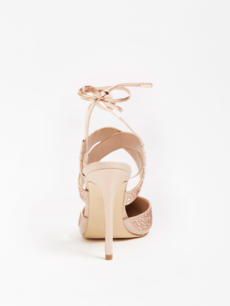 SANDALETTE GLOWY STRASS image number 2