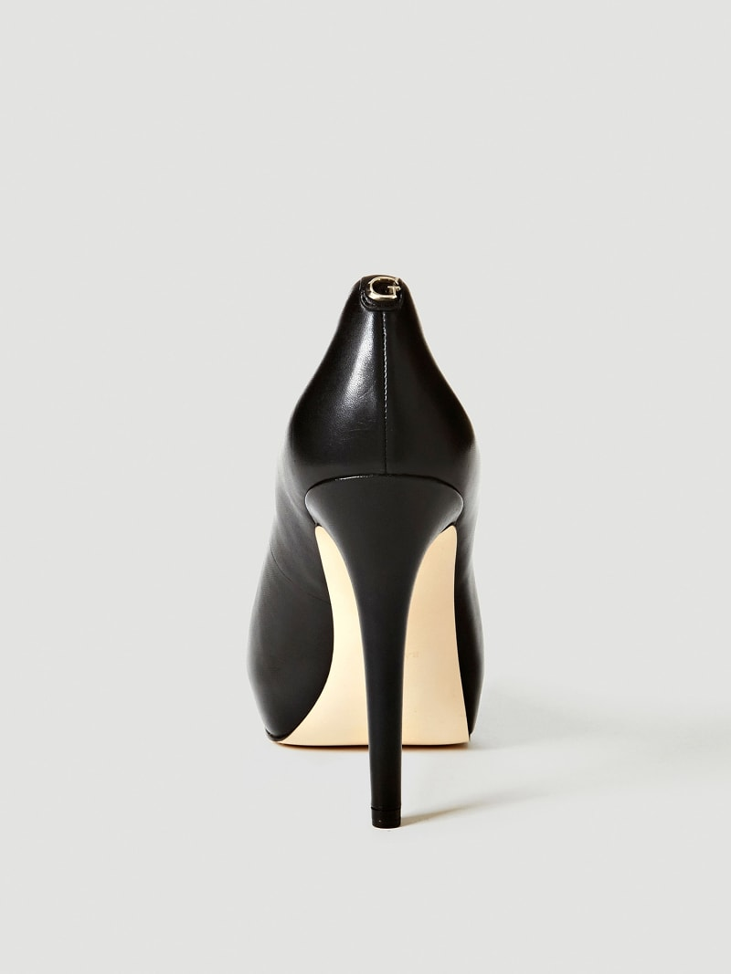 ESCARPIN A BOUT OUVERT HADIE CUIR image number 2