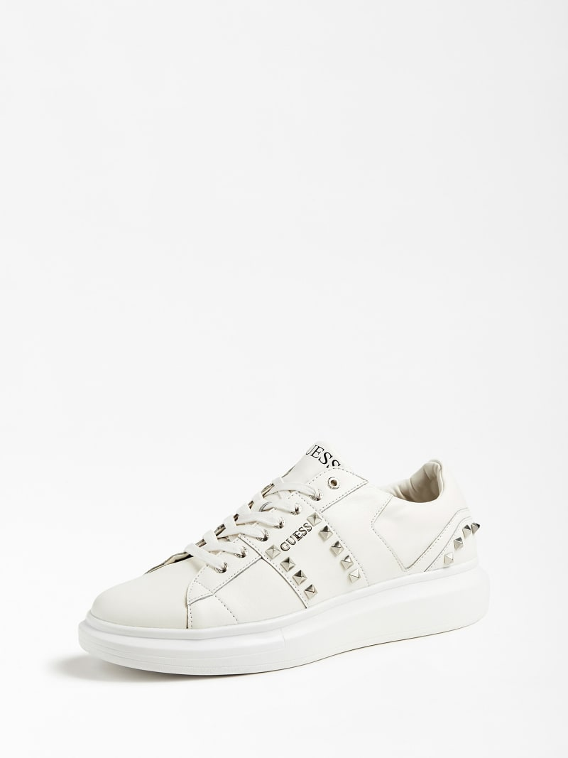 KEAN REAL LEATHER SNEAKER STUDS image number 0