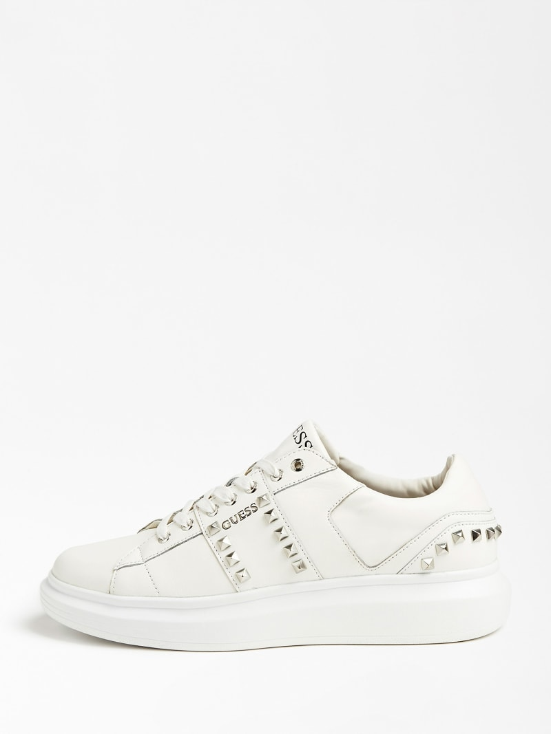 KEAN REAL LEATHER SNEAKER STUDS image number 1