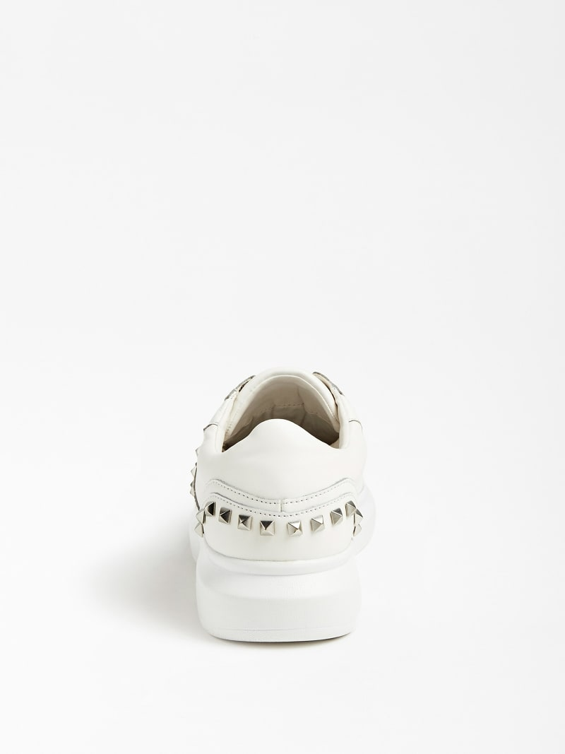 KEAN REAL LEATHER SNEAKER STUDS image number 2