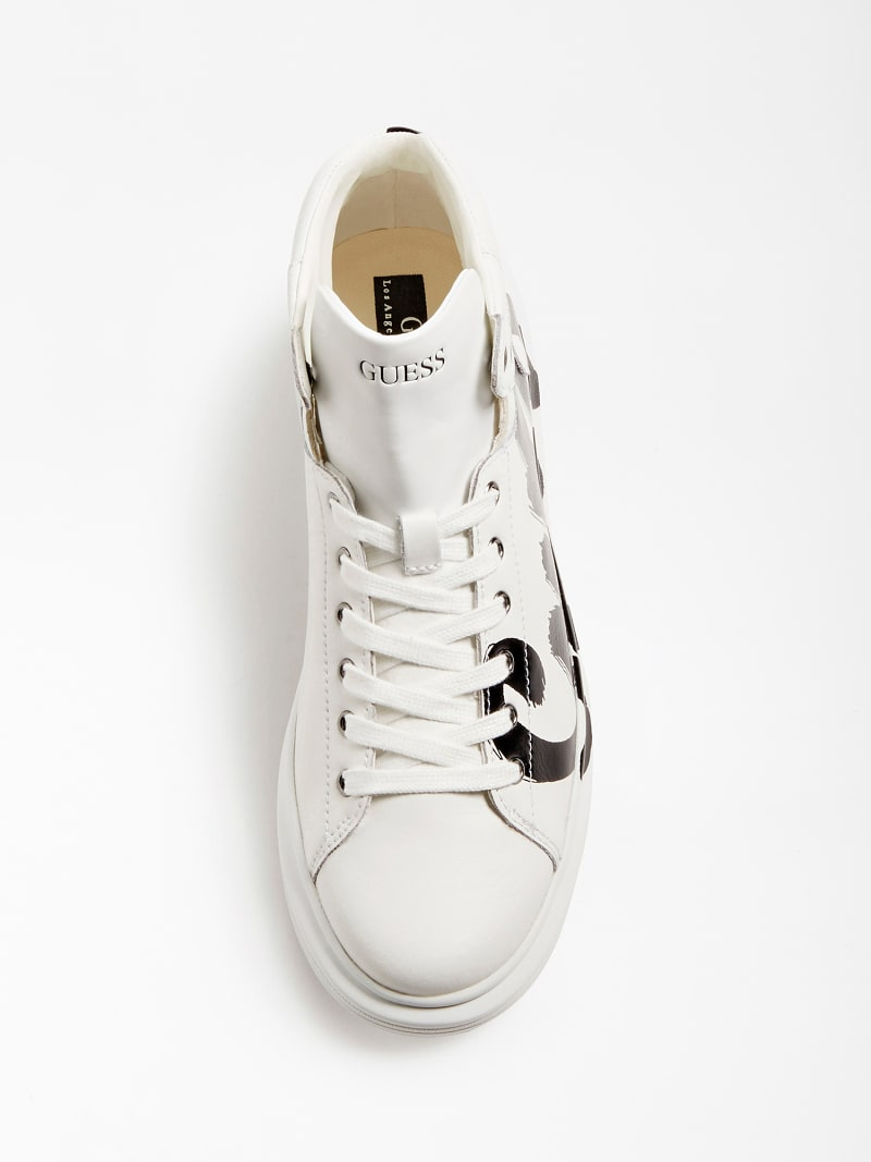 SALERNO MID LOGO HIGH-TOP SNEAKER image number 3
