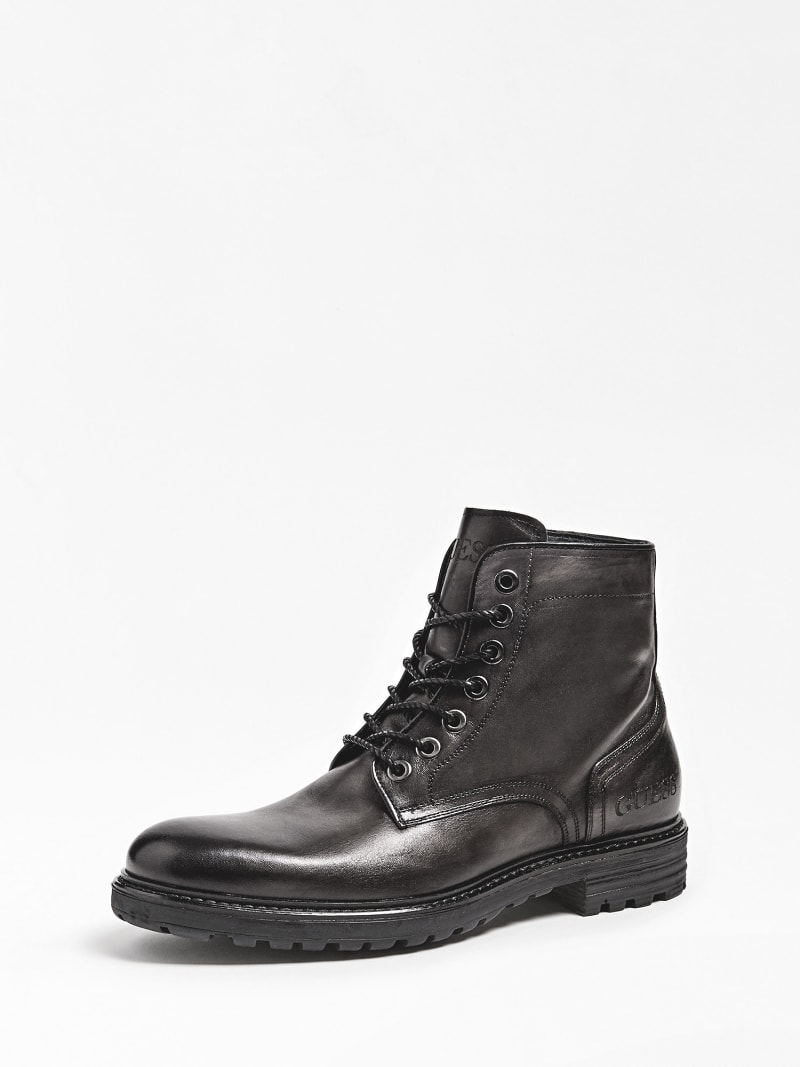 GERALD LACE-UP LEATHER BOOT image number 0