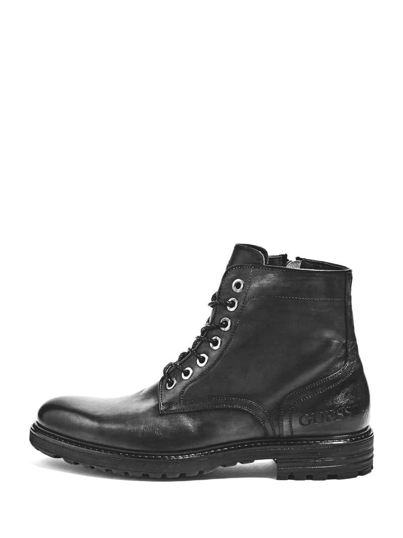 GERALD LACE-UP LEATHER BOOT image number 1