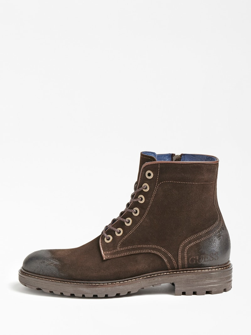GERALD USED-LOOK SUEDE LOW BOOT image number 1