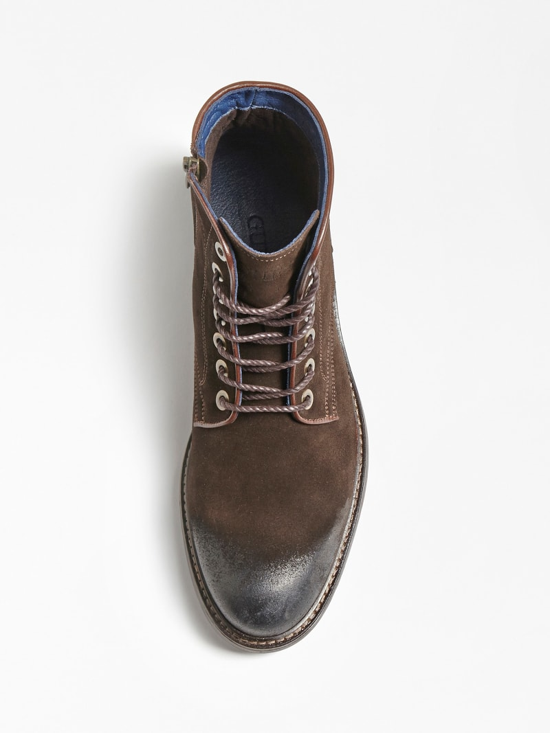 GERALD USED-LOOK SUEDE LOW BOOT image number 3