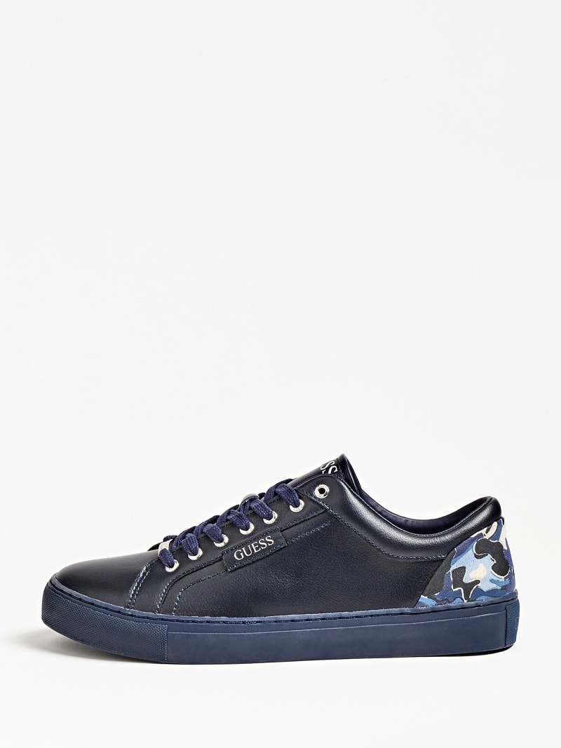 LUISS LEATHER LOGO SNEAKER image number 1