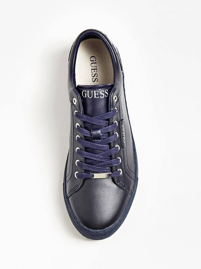 LUISS LEATHER LOGO SNEAKER image number 3