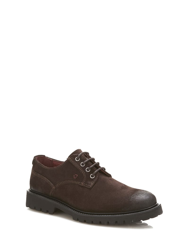TRAVIS SUEDE LACE-UP SHOE  image number 0