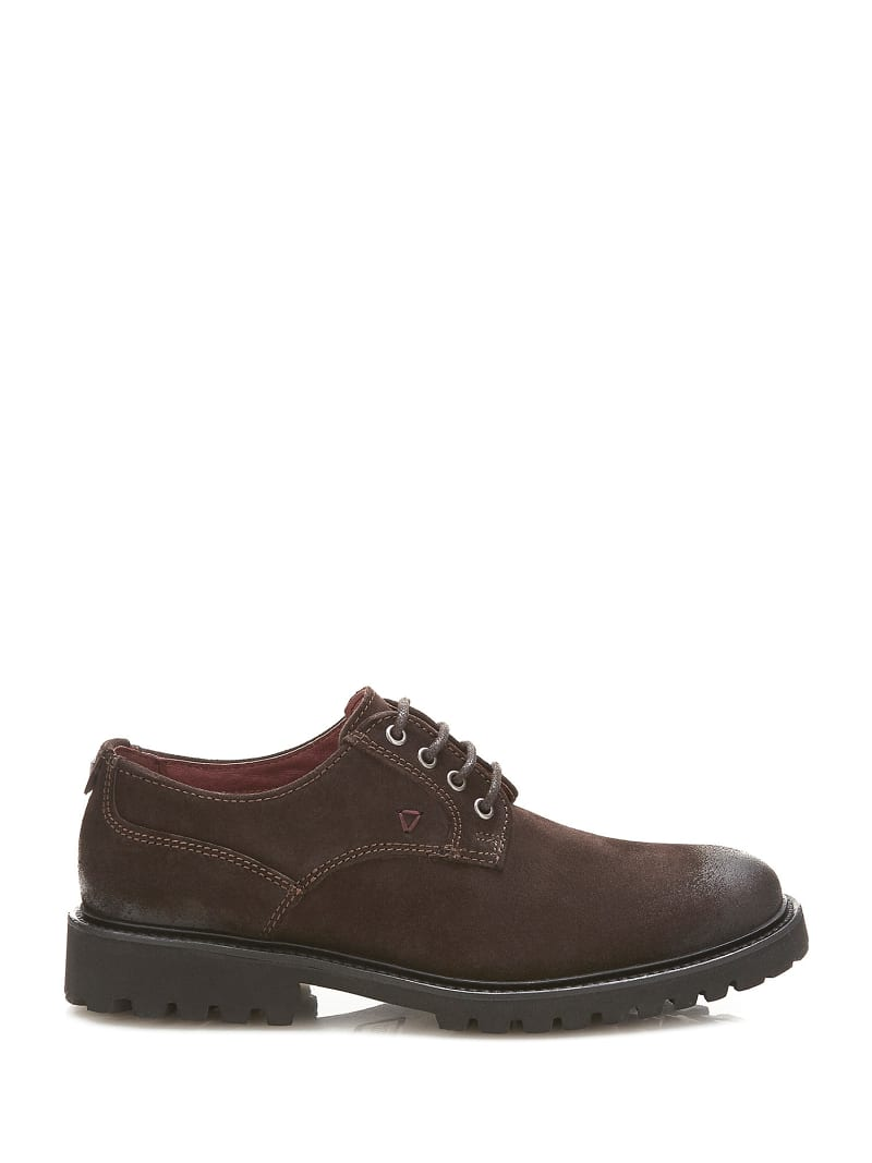 TRAVIS SUEDE LACE-UP SHOE  image number 1