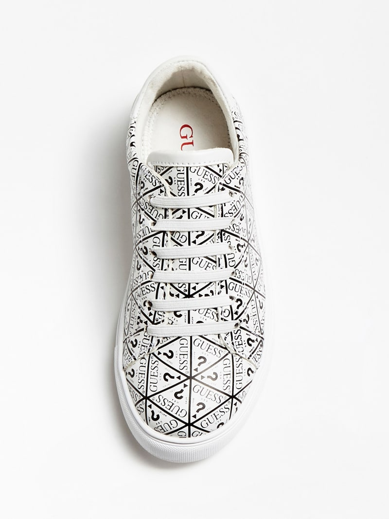 HOLLY ALL-OVER LOGO SNEAKER (19-26) image number 3