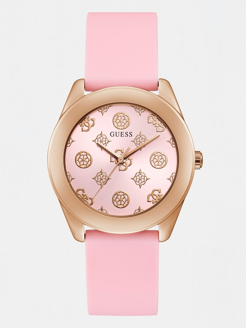 PEONY LOGO ANALOGUE WATCH image number 0