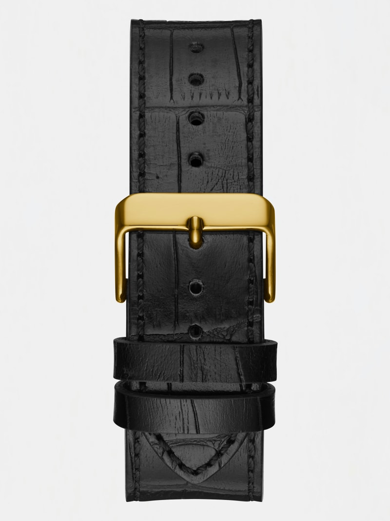 LEATHER ANALOGUE WATCH image number 2