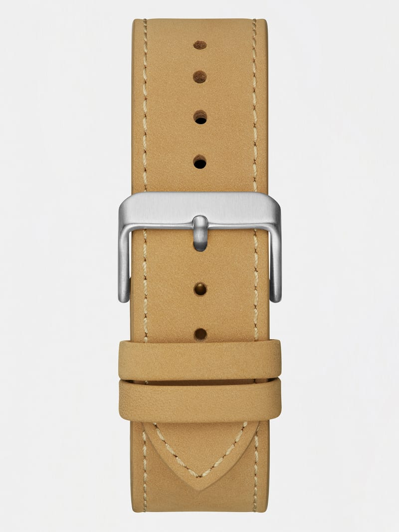 LEATHER MULTIFUNCTION WATCH image number 2