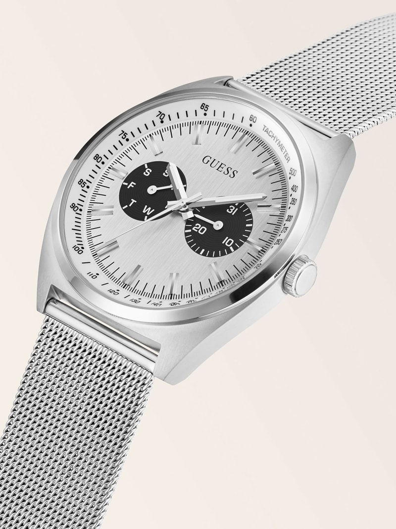 STAINLESS STEEL MULTI-FUNCTION WATCH image number 3