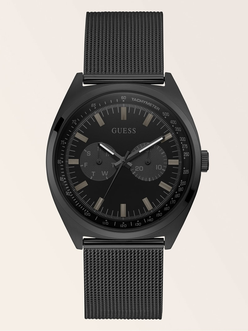 STAINLESS STEEL MULTI-FUNCTION WATCH image number 0