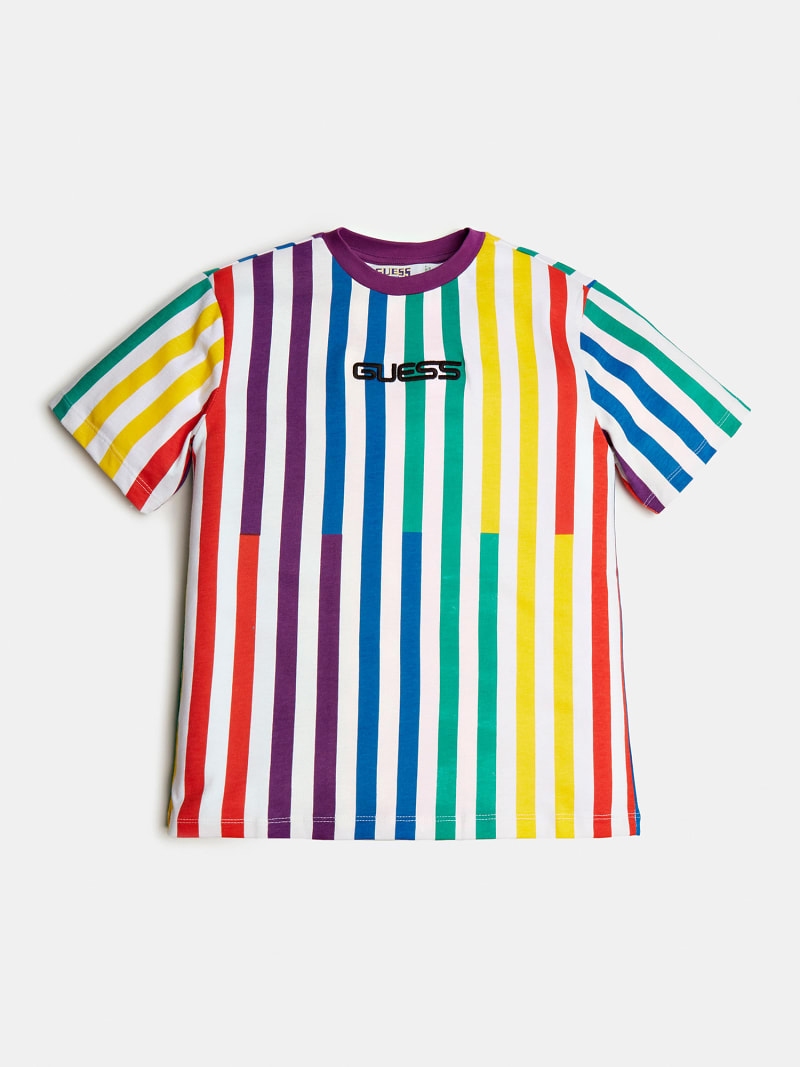 STRIPED T-SHIRT J BALVIN image number 1