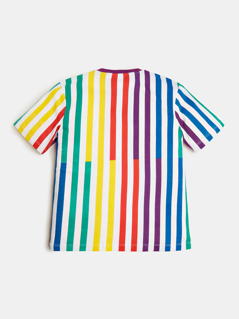 STRIPED T-SHIRT J BALVIN image number 2