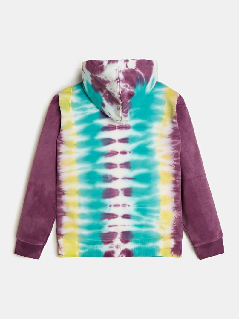 SWEAT-SHIRT TIE DYE LOGO J BALVIN image number 4