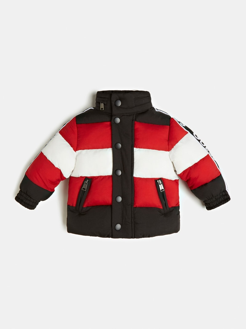 WATTIERTE STEPPJACKE COLOR BLOCK image number 0