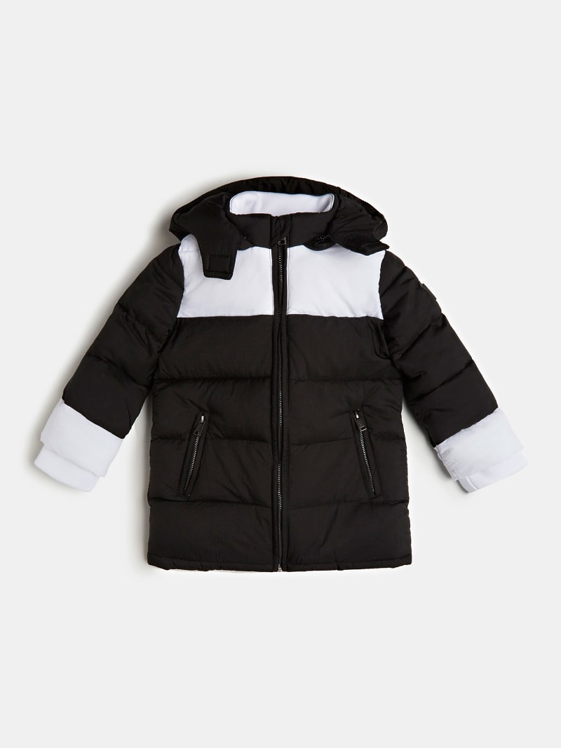 PADDED DETACHABLE PUFFER image number 0