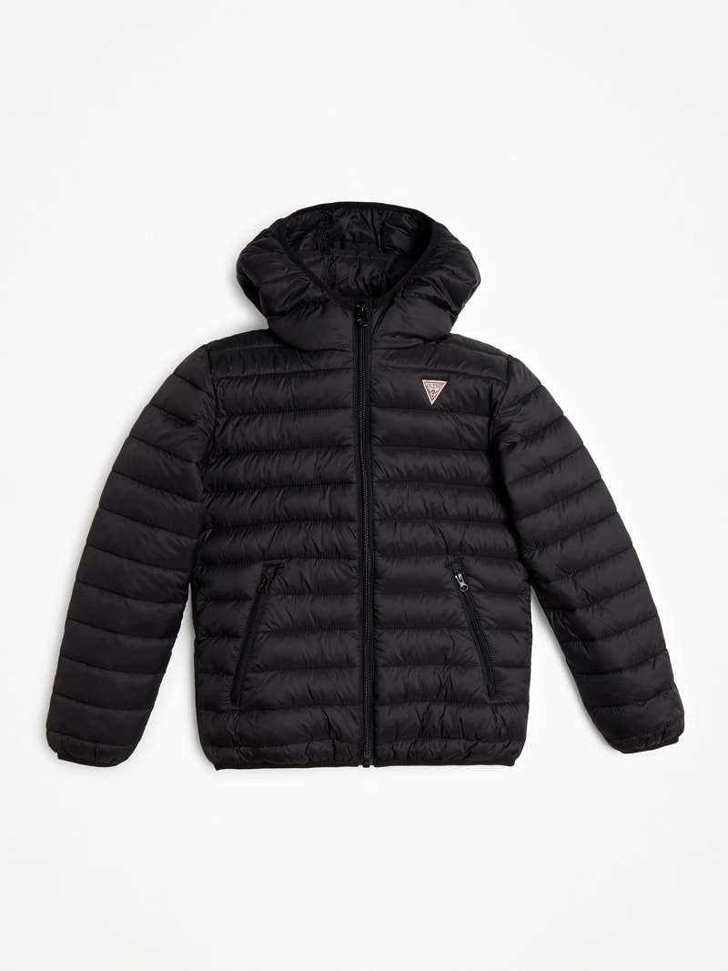 TRIANGLE LOGO FRONT PUFFER JACKET image number 0