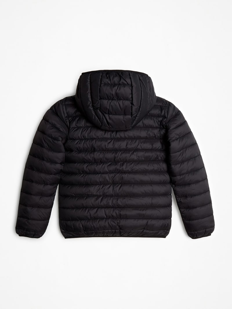TRIANGLE LOGO FRONT PUFFER JACKET image number 1
