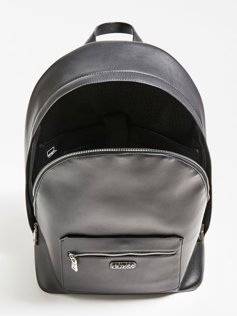 DAN PU FRONT POCKET BACKPACK image number 3