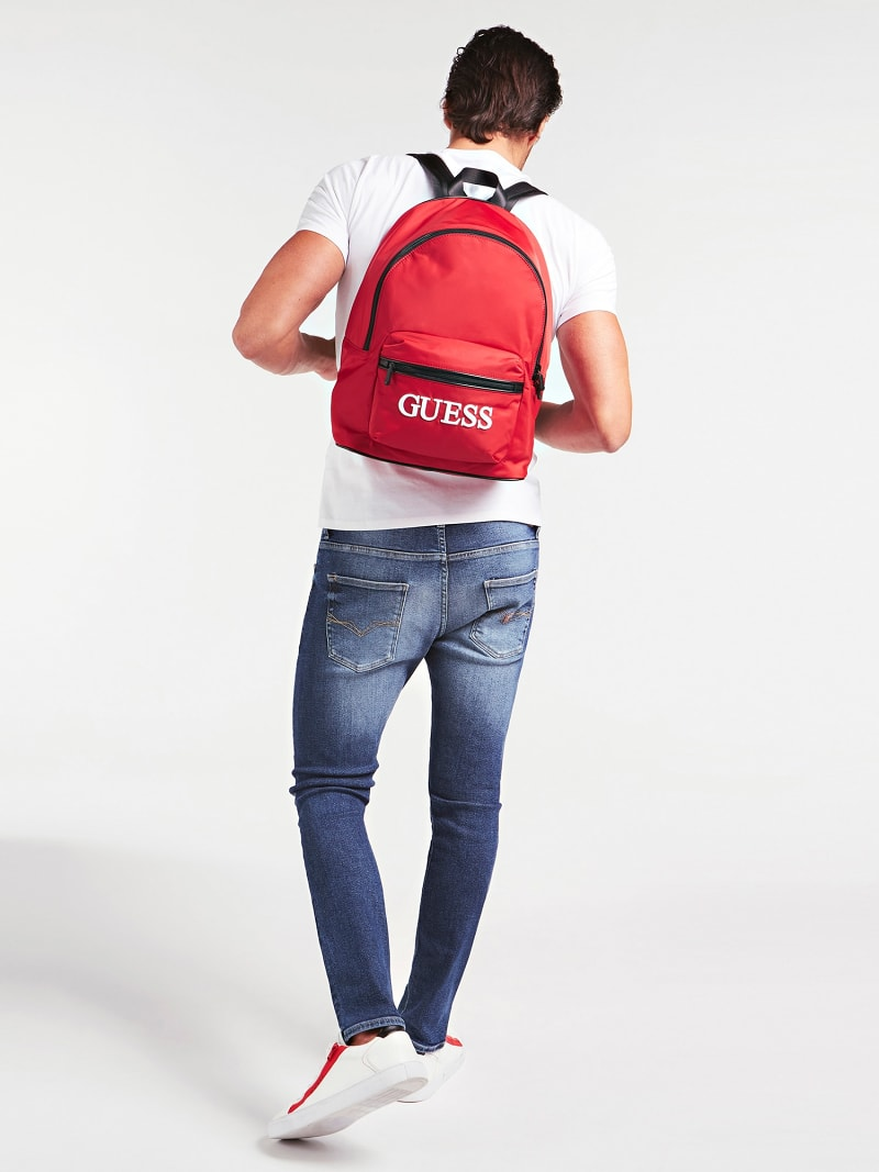 QUARTO LOGO PRINT BACKPACK image number 1