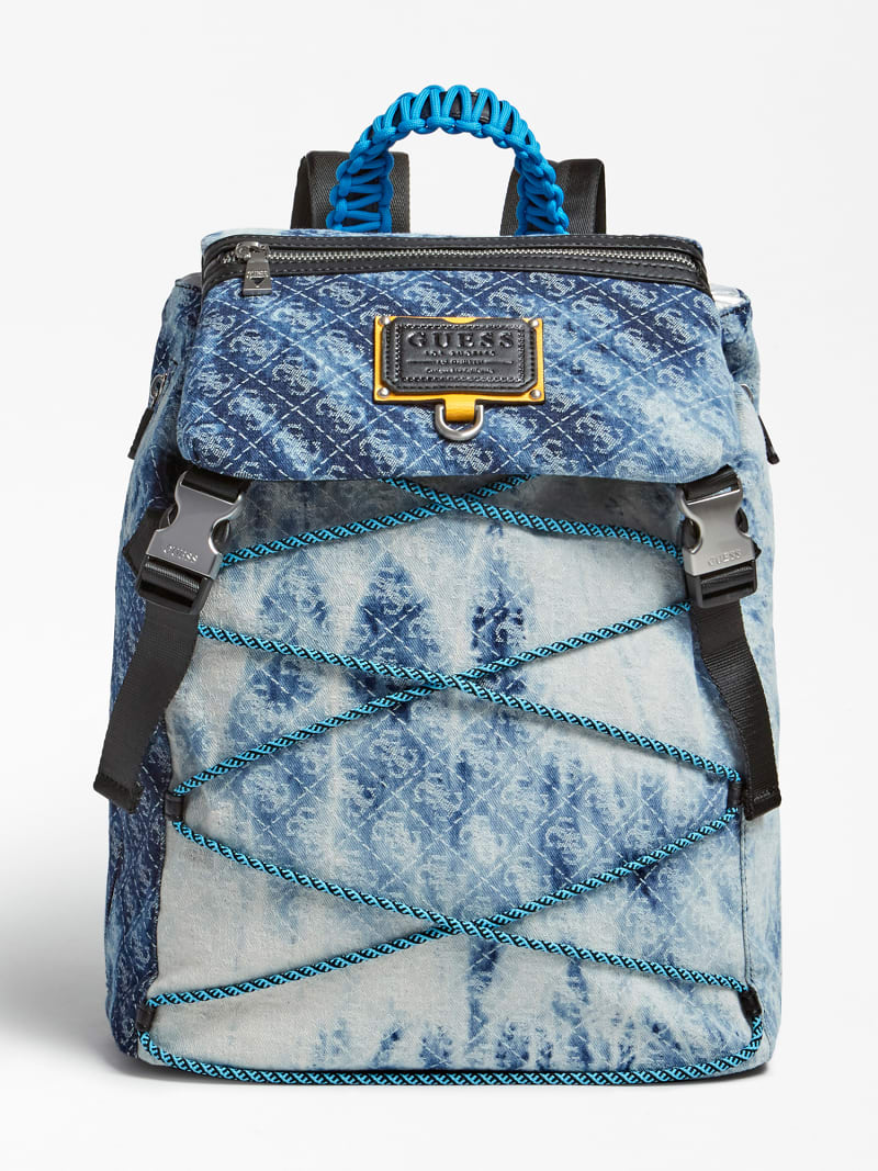 SALAMEDA DENIM BACKPACK image number 0