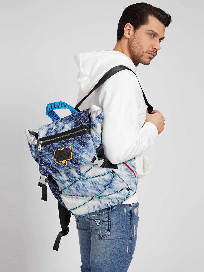 SALAMEDA DENIM BACKPACK image number 1