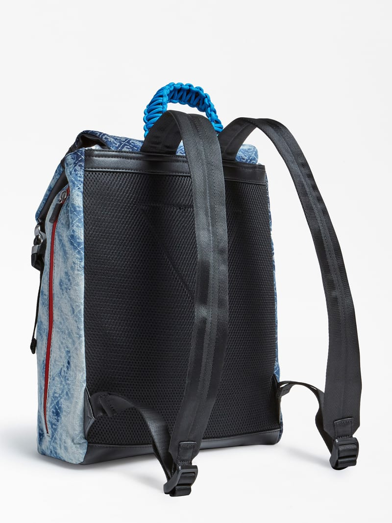 SALAMEDA DENIM BACKPACK image number 2