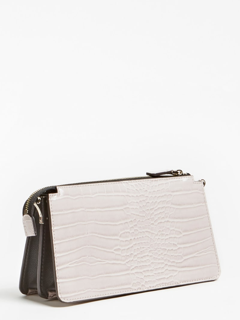 STEPHI CROC PRINT MINI CROSSBODY image number 2