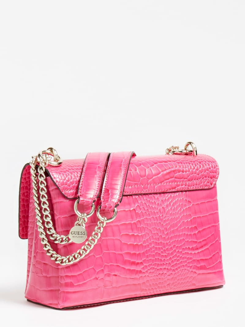 CARABEL CROCODILE CROSSBODY image number 2