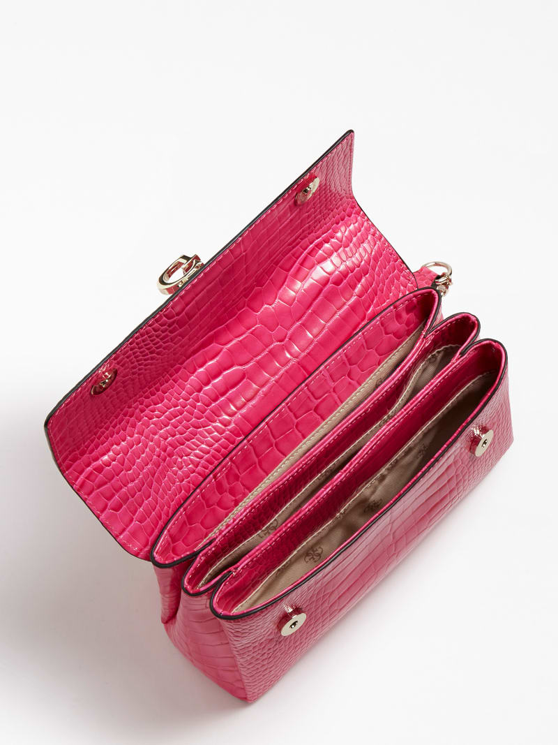 CARABEL CROCODILE CROSSBODY image number 3