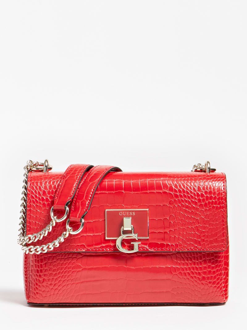 CARABEL CROCODILE CROSSBODY image number 0