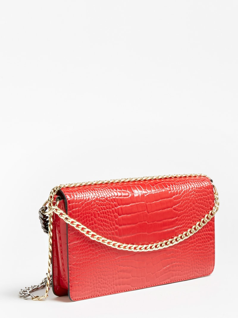 LUNA CROCODILE MAXI CROSSBODY image number 2