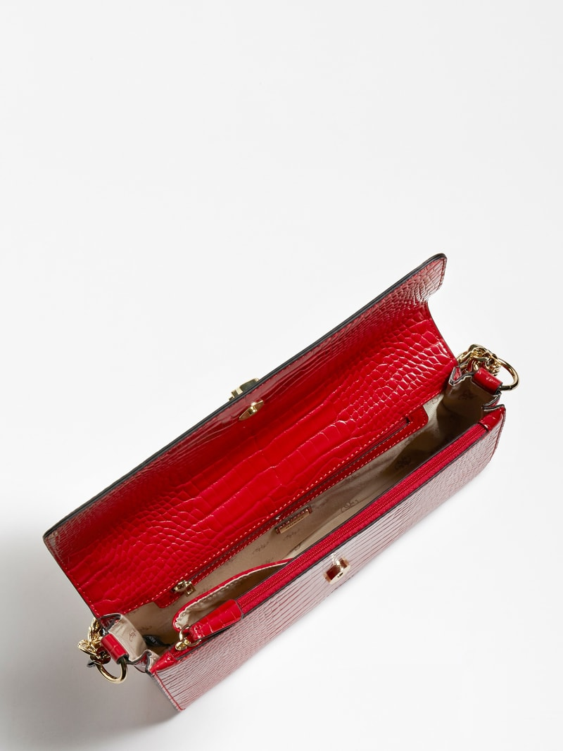 LUNA CROCODILE MAXI CROSSBODY image number 3