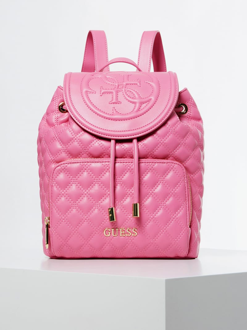 CHARLIZE PERFORATED 4G LOGO BACKPACK image number 0
