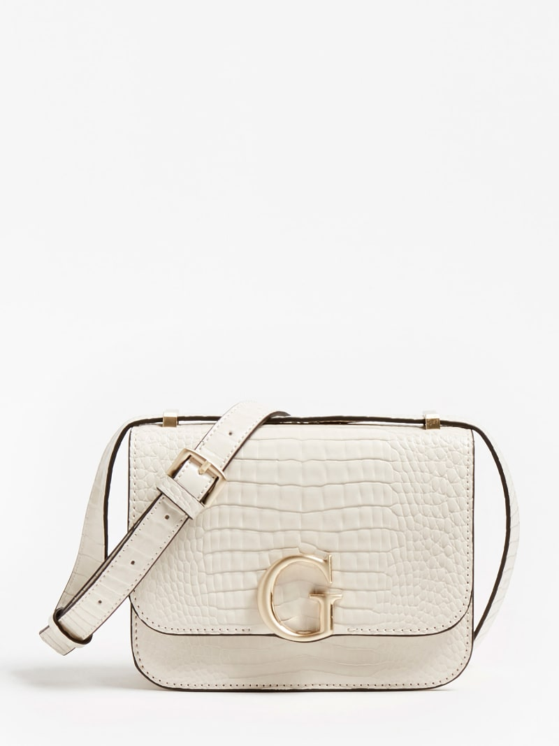CORILY CROC PRINT CROSSBODY BAG image number 0