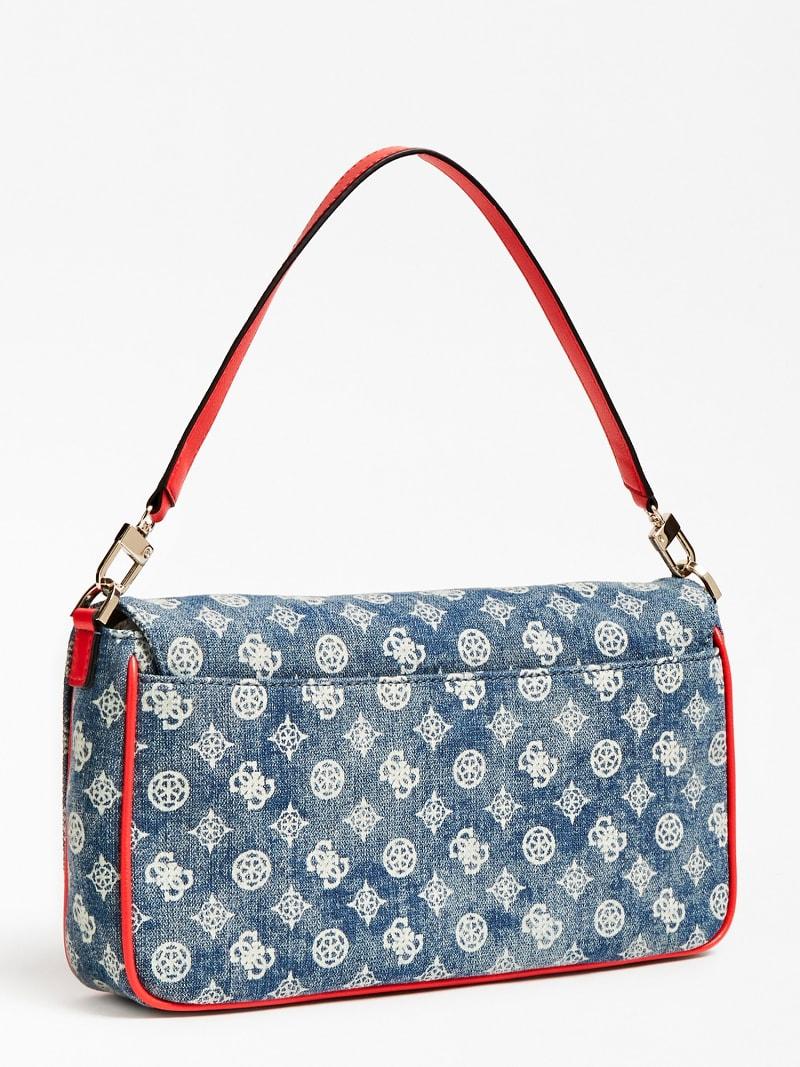 BRIGHTSIDE DENIM SHOULDER BAG | Guess Official Online Store