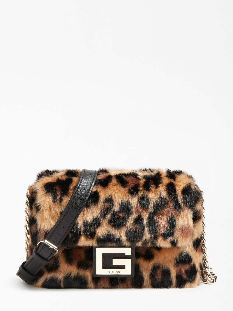 GWEN FAUX FUR CROSSBODY image number 0