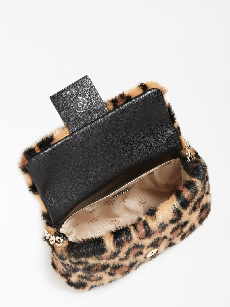 GWEN FAUX FUR CROSSBODY image number 3