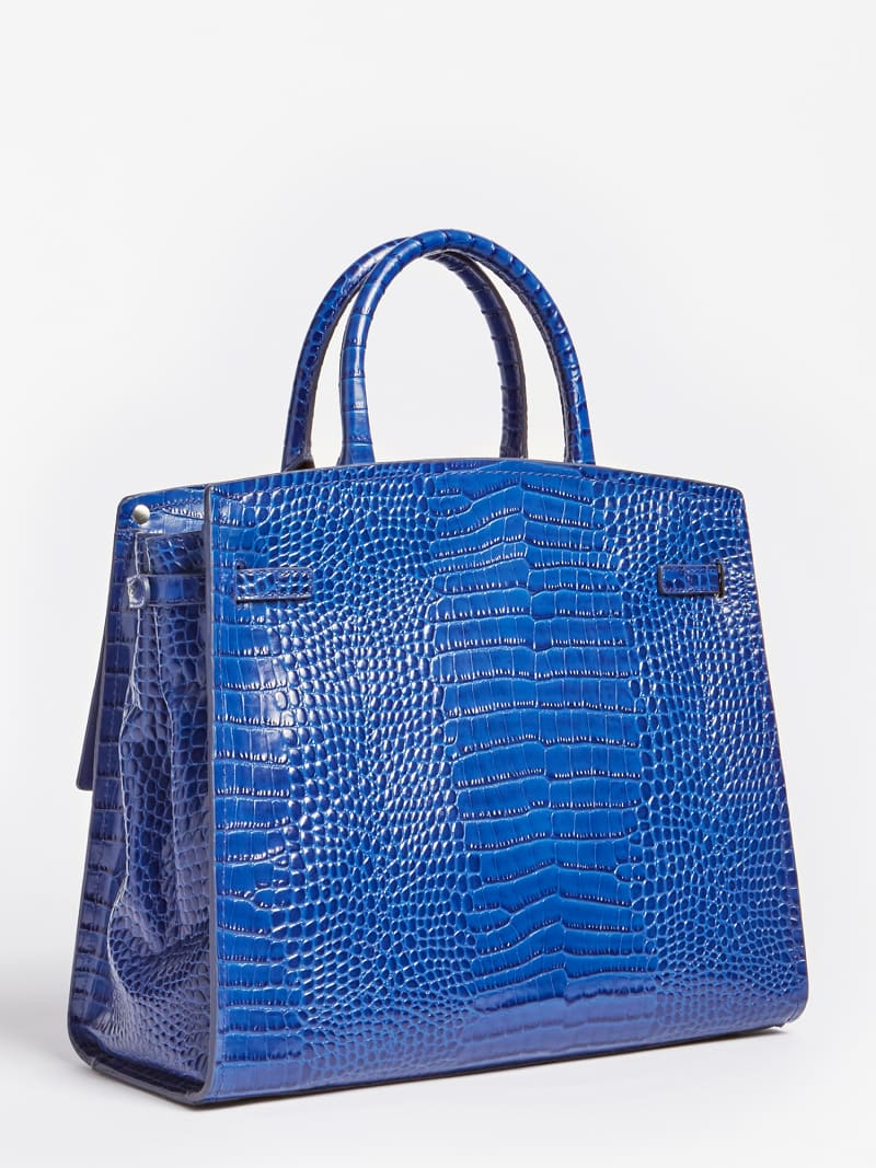MEGAN LUXE REAL LEATHER HANDBAG image number 2