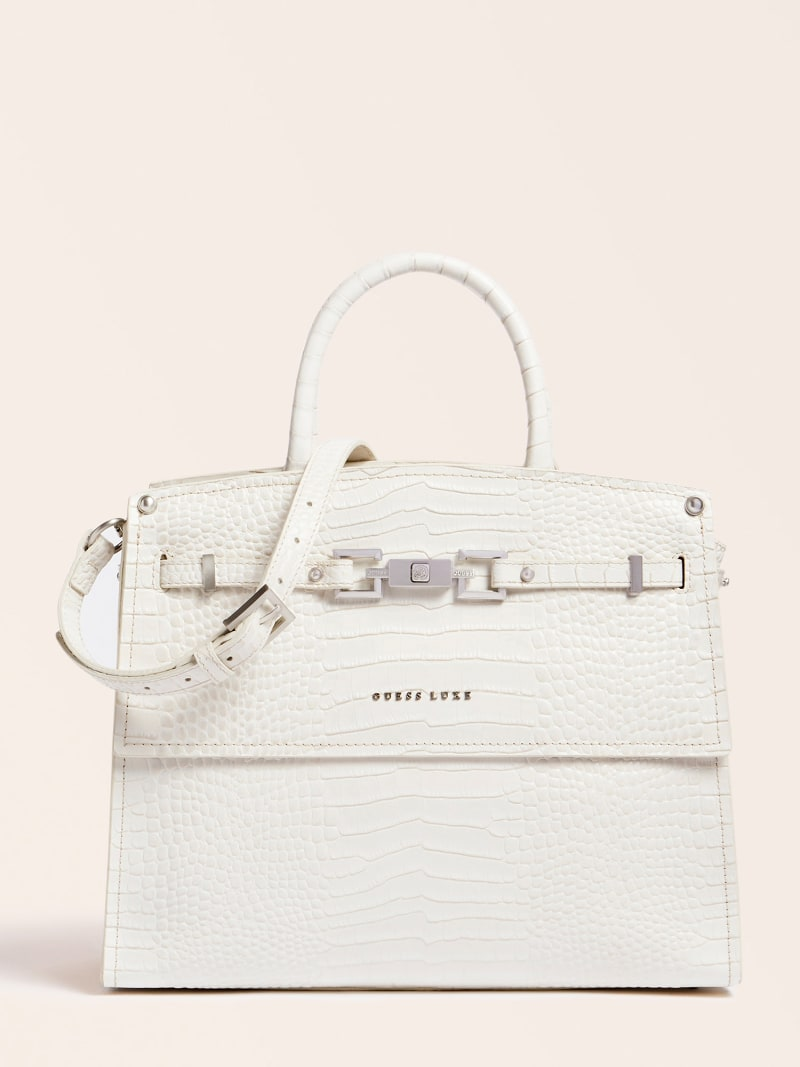 MEGAN LUXE REAL LEATHER HANDBAG image number 0
