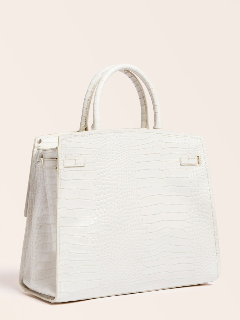 MEGAN LUXE REAL LEATHER HANDBAG image number 3
