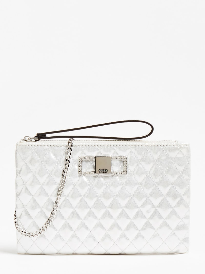 DINNER DATE QUILTED CLUTCH image number 0